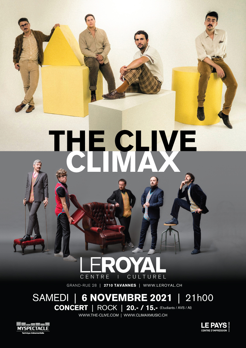 211106---THE-CLIVE---Affiche-A3